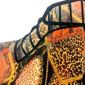 Tops - Leopard print chic crop top